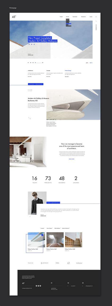 themeforest design 45 degrees architecture studio psd themeforest net on