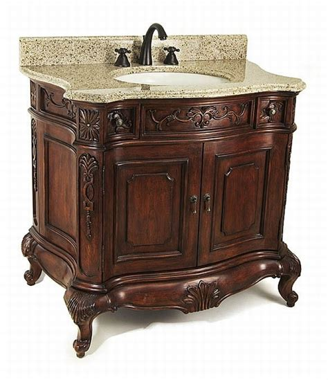9 ornate vanities for your bathroom abode