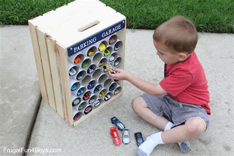 Animal Toilet Paper Holder diy wooden crate storage and display for hot wheels cars