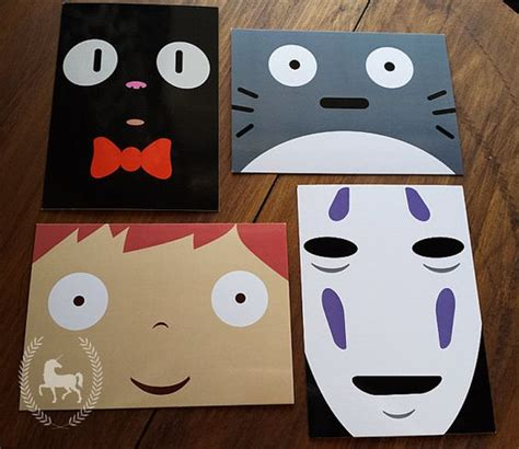 studio ghibli bedroom studio ghibli character faces stationery by wordtoyourunicorn i would paint these on