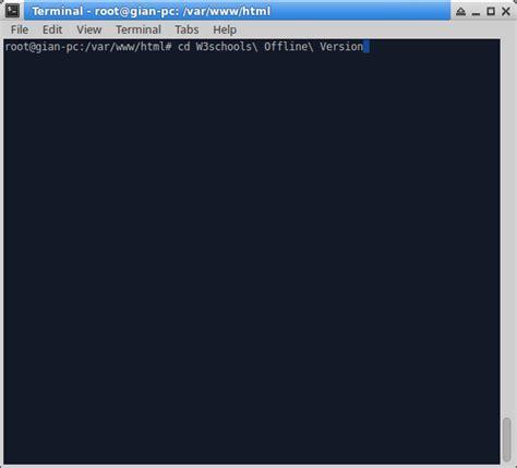 html tutorial offline tutorial install w3schools di localhost offline gian blog