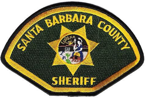 Santa Barbara County Records File Patch Of The Santa Barbara County Sheriff S Office Png Wikimedia Commons
