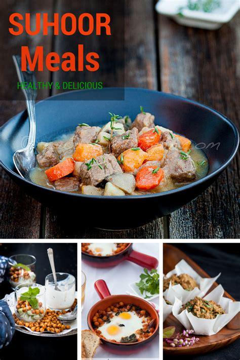 Simple Ramadhan easy suhoor recipes easy ramadan meals healthy