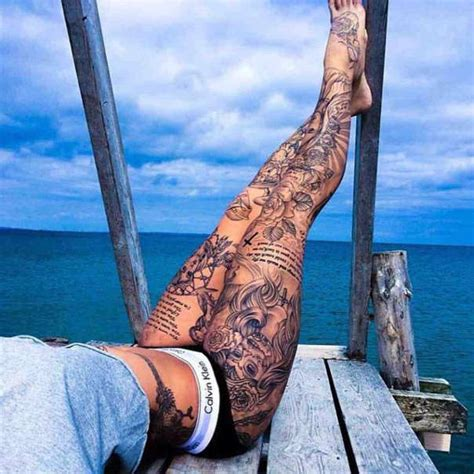 leg tattoo girl pinterest 80 fashionable and wonderful leg tattoos and designs