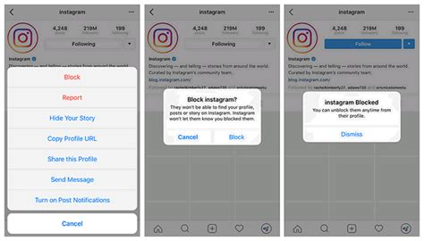 Blockers Instagram How To Unblock Someone On Instagram How To