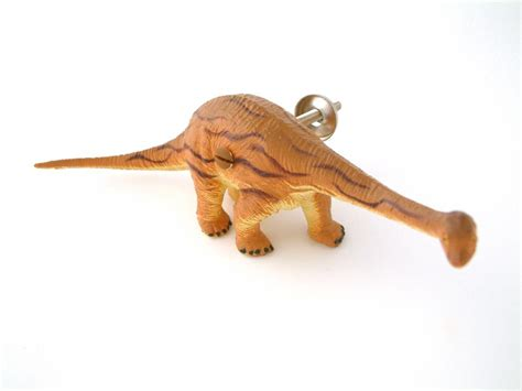 Dinosaur Drawer Pulls by Dinosaur Drawer Knob Orange Diplodocus