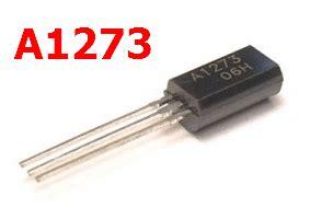 a1023 transistor substitute transistor a1273 datasheet 28 images 2sb 1240 pnp 32v 2a a1273 electronica trelew mac16d