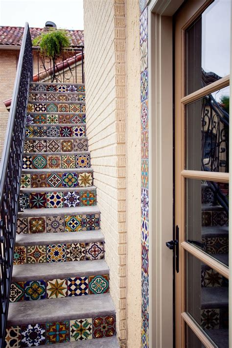 Tiles For Stairs Design 44 Top Talavera Tile Design Ideas