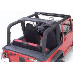 Jeep Yj Roll Bar All Things Jeep Denim Black Roll Bar Cover Kit By