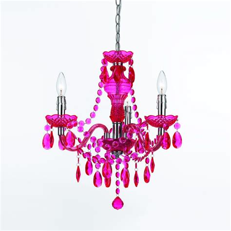 Remodelaholic Best Colors For Your Home Fuchsia Pink Chandelier L