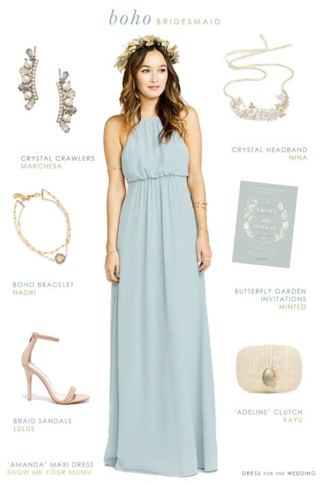 Wedding Accessories For Bridesmaids by Boho Bridesmaid Dresses Dress For The Wedding