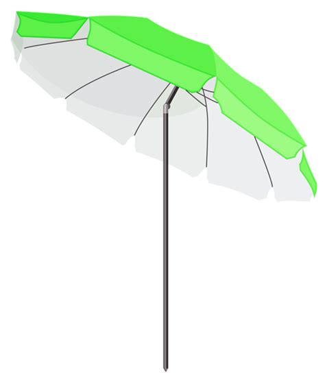 Green Beach Umbrella PNG Clipart   Gallery Yopriceville