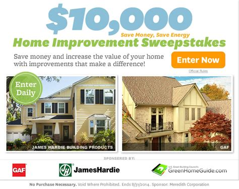 top 28 better homes sweepstakes better homes and