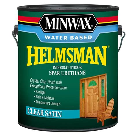 1 gal clear satin water based polyurethane for floors varathane 1 gal clear matte water based interior