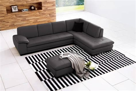 italian sectional leather sofa sectional sofa in top grain italian leather chicago
