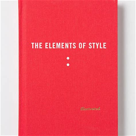the elements of style illustrated edition books the elements of style illustrated from anthropologie books