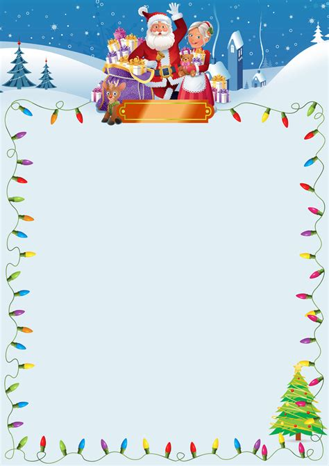 blank letter from santa template search results for template for santa claus letter
