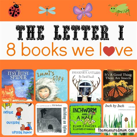 pictures of books for books for letter i the measured