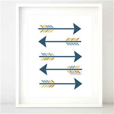 arrow printable wall art arrow printable arrows print art wall from blursbyaishop