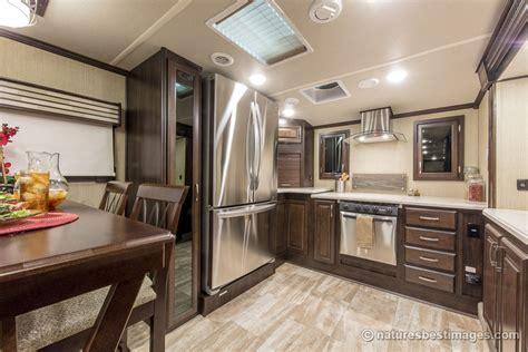 2017 luxury front kitchen fifth wheel model 386fk ebay