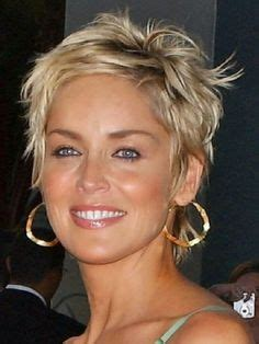 easy care shag hairstyles for women sharon stone hairstyles short hair google search hair