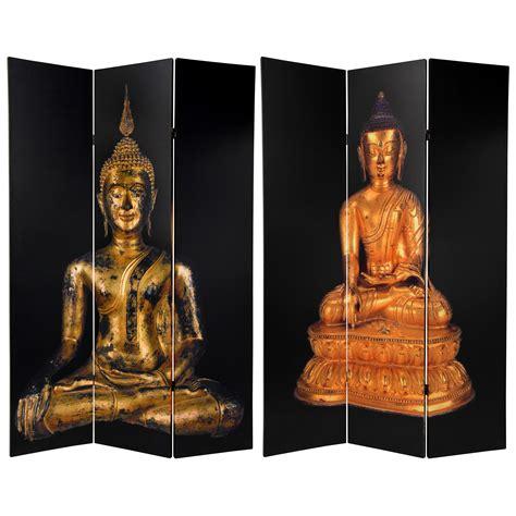 buddha room divider screen furniture 6 ft sided thai buddha room divider ebay