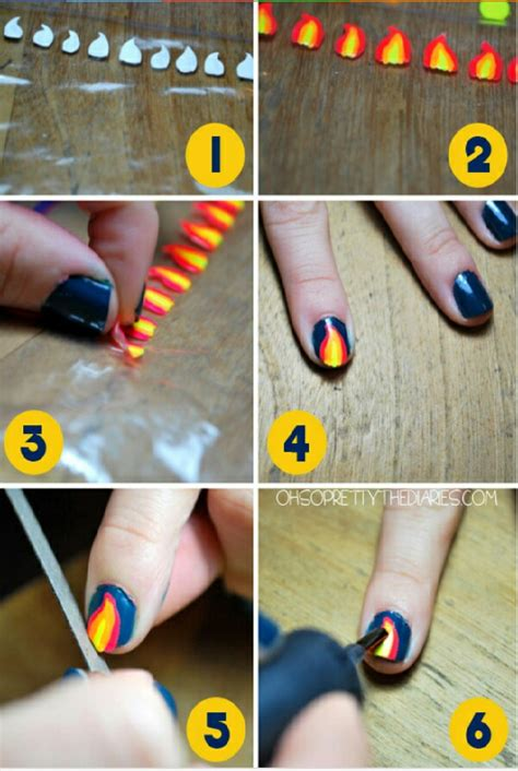 easy nail art hacks you can do on yourself musely