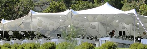 wedding awning a wedding in a nature scene with tentickle tents