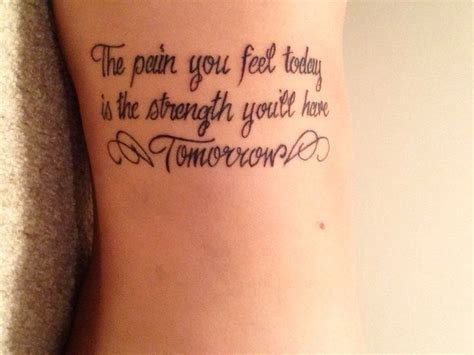 tattoo pain feels good crohn s disease quote tattoo tattoos pinterest fonts