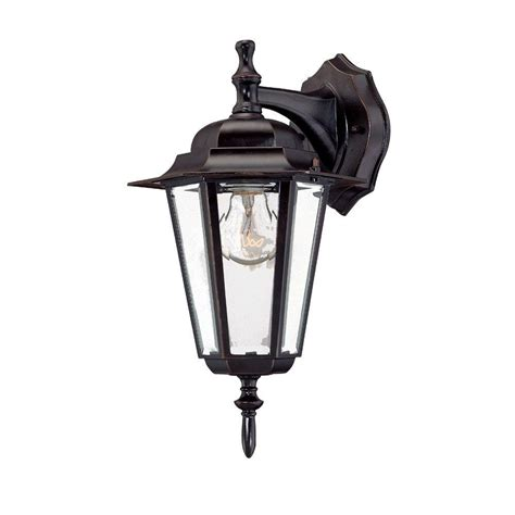 Architectural Outdoor Lighting Fixtures Acclaim Lighting Camelot Collection 1 Light Architectural Bronze Outdoor Wall Mount Fixture