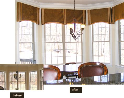 Bay Or Bow Window Difference greensboro window treatments greensboro interior design