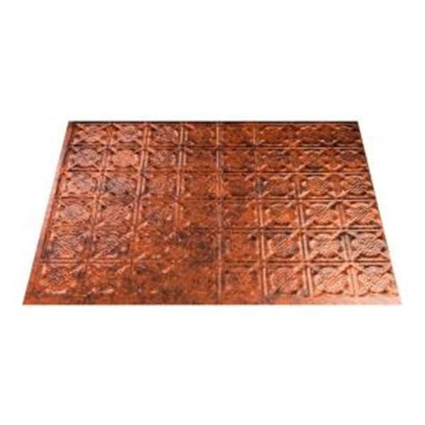 decorative ceiling tiles home depot fasade 18 in x 24 in traditional 6 pvc decorative