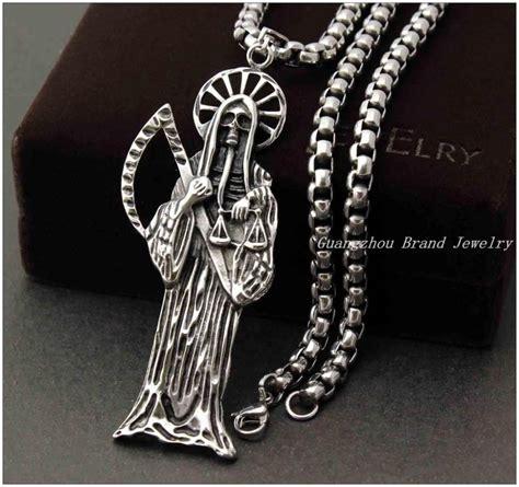 cadenas de muerte facebook santa muerte necklace collares de la sant 237 sima muerte
