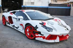 Customize A Lamborghini Chris Brown Gets Nike Inspired Custom Lamborghini