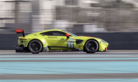Aston Martin Race Car by New Aston Martin Vantage Race Car Ready To Take On 2018