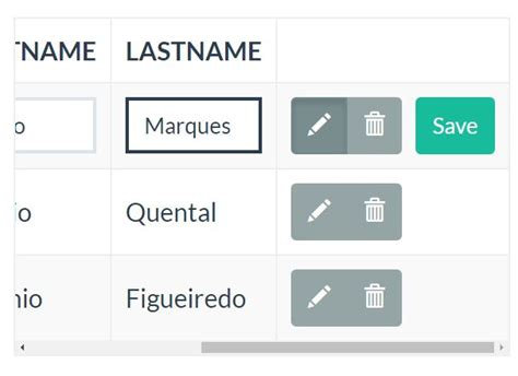 bootstrap editable tutorial creating a live editable table with jquery tabledit