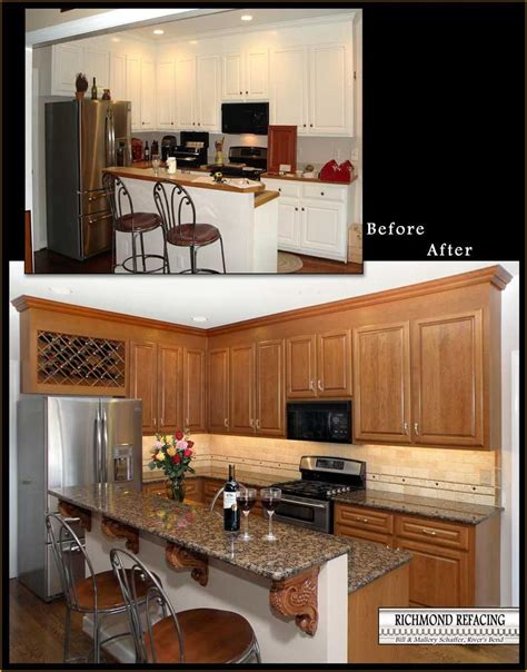 kitchen cabinet refacing images 3 richmond refacing