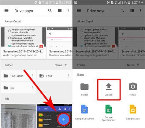 cara membuat aplikasi google drive cara upload file di google drive via aplikasi android