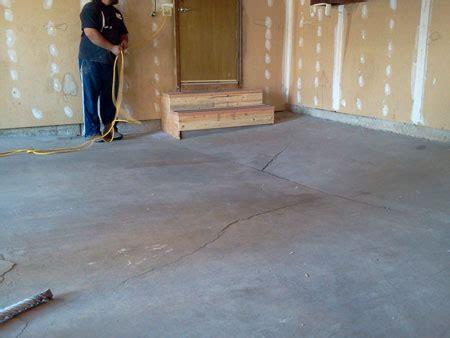 Floor Mud by Mudjacking Denver Concrete Leveling Denver
