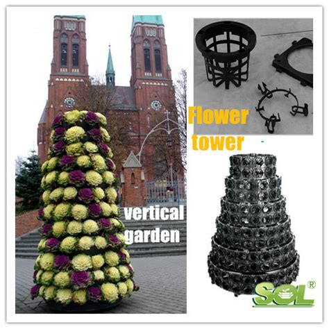 china manufacture vertical garden tower hydroponic systems