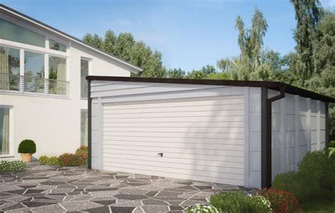 pultdach garage gro 223 raumgaragen satteldachgaragen