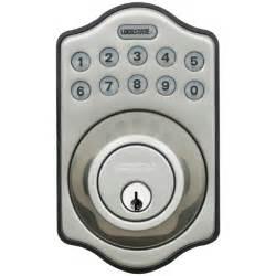 Front Door Locks Keyless Lockstate Ls Db500 Electronic Deadbolt Lock Keylessaccesslocks