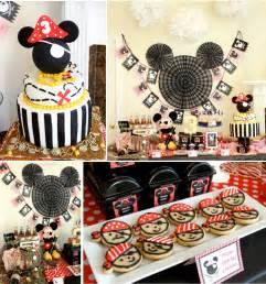 pirate themed birthday decorations kara s ideas mickey mouse pirate boy disney themed