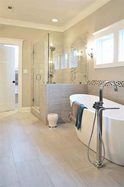 half tiled bathroom ideas 43 amazing bathrooms with half walls interior god