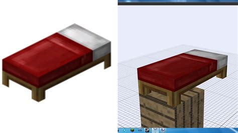 Minecraft Bed by Optimus 5 Search Image Minecraft Bed