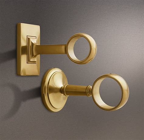 brass curtain rod brackets when to splurge when to save how do you decide
