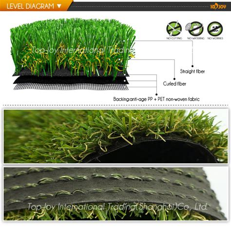 Landscape Plastic Landscape Design Turf Grass With Plastic Imitative China