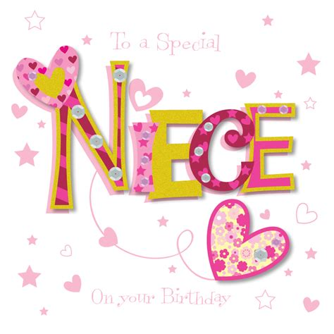 happy birthday niece images special niece happy birthday greeting card cards