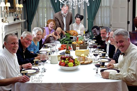 norman rockwell dinner table norman rockwell s freedom from want at the governor s