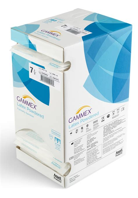 powdered and powder free surgical ansell surgical gloves gammex powdered size 7 ansell